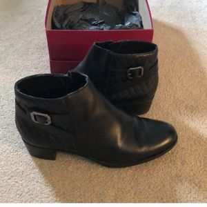 Munro Leather Ankle Boots Comfortable Stylish